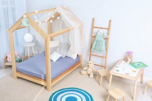 child bedroom with pretty interior